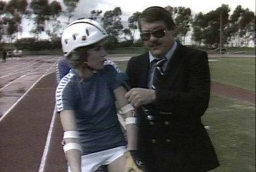 Alex Karras and Anne Murray Footage from Rock'n Roll Sports Classic