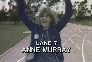 Anne Murray Footage from Rock'n Roll Sports Classic