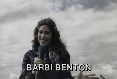 Barbi Benton Footage from Rock'n Roll Sports Classic