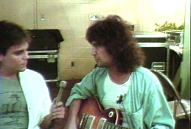 Billy Squier Footage from Saturday Night At The Video