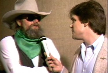 Charlie Daniels Footage from Saturday Night At The Video