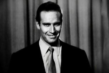 Charlton Heston Footage from George Gobel Show