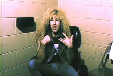 Dee Snider Footage from Saturday Night At The Video