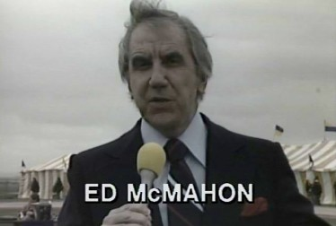 Ed McMahon Footage from Rock'n Roll Sports Classic