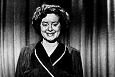Elsa Lanchester Footage from George Gobel Show