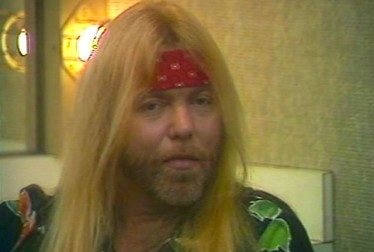 Gregg Allman Footage from Saturday Night At The Video