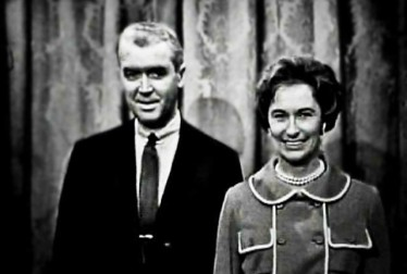 Jimmy and GloriaStewart Footage from George Gobel Show