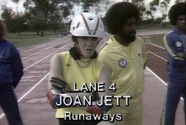 Joan Jett Footage from Rock'n Roll Sports Classic