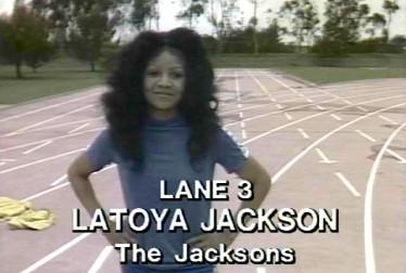 Latoya Jackson Footage from Rock'n Roll Sports Classic