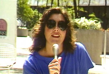 Laura Branigan Footage from Saturday Night At The Video