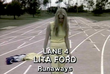 Lita Ford Footage from Rock'n Roll Sports Classic