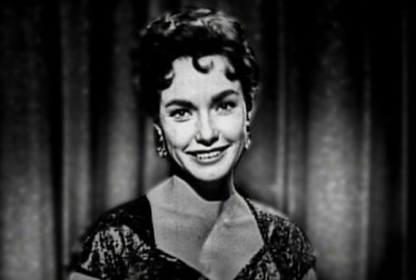 Maureen Stevenson Footage from George Gobel Show