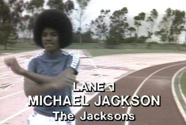 Michael Jackson Footage from Rock'n Roll Sports Classic