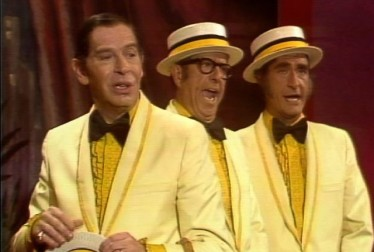Milton Berle, Phil Silvers and Sid Caeser Footage from Kraft Music Hall