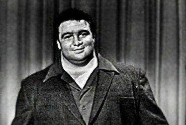 Paul Anderson Footage from George Gobel Show