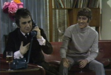 Peter Cook and Dudley Moore Footage from Kraft Music Hall