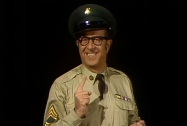 Phil Silvers Footage from Kraft Music Hall