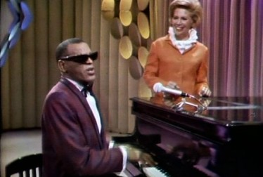 Ray Charles and Dinah Shore Footage from Kraft Music Hall