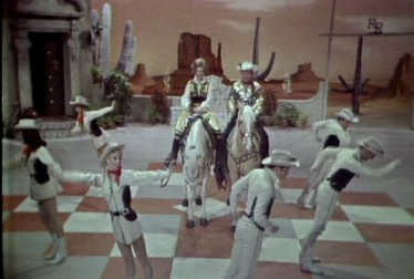 Roy Rogers and Dale Evans Footage from Kraft Music Hall