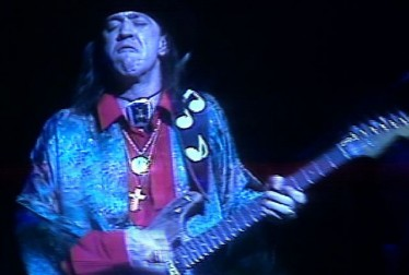 Stevie Ray Vaughn Footage from Saturday Night At The Video