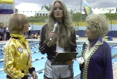Susan Anton, Phyllis Diller and Sandy Duncan on Rock'n Roll Sports Classic Footage