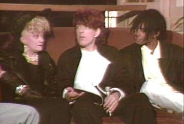 Thompson Twins Footage from Saturday Night At The Video