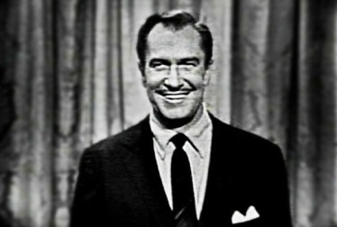 Vincent Price Footage from George Gobel Show