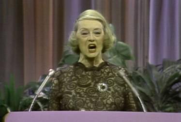 Bette Davis Footage from Kraft Music Hall