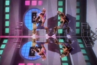 80s Dancers Footage from Dancing To The Hits