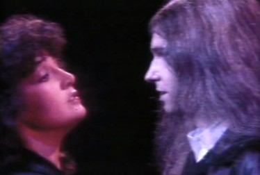 Karla DeVito and Jim Steinman Footage from Real Don Steele Show