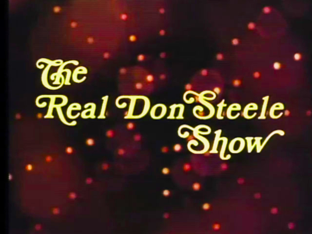 Real Don Steele Show Logo 2 Footage Library