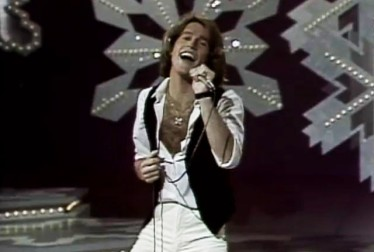 Andy Gibb Footage from Bob Hope Show and Specials
