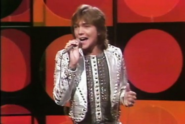 David Cassidy Footage from Bob Hope Show and Specials