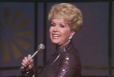 Debbie Reynolds Footage from Bob Hope Show and Specials
