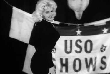 Jayne Mansfield Footage from Bob Hope Show and Specials