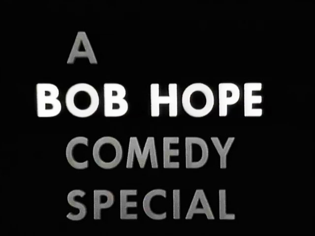 A Bob Hope Comedy Special logo Footage Library