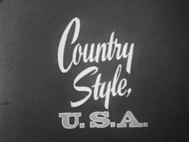 Country Style U.S.A.  Footage Library