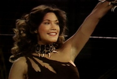 Barbi Benton Footage from Circus of the Stars