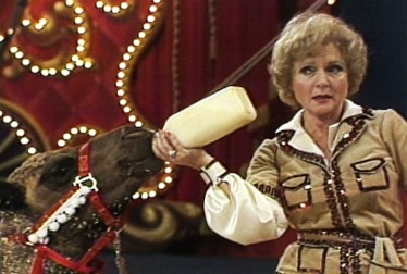 Betty White Footage from Circus of the Stars