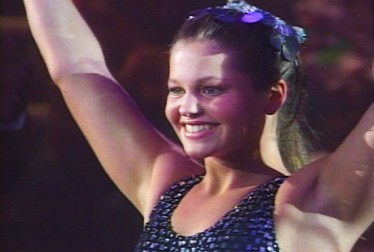 Candace Cameron Footage from Circus of the Stars