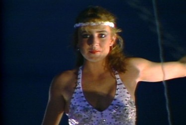 Dana Plato Footage from Circus of the Stars