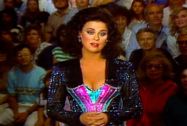 Delta Burke Footage from Circus of the Stars