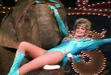 Florence Henderson Footage from Circus of the Stars