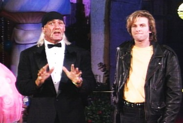 Hulk Hogan and Adam Curry Footage from Circus of the Stars