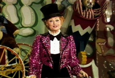 Lucille Ball on Circus of the Stars Footage