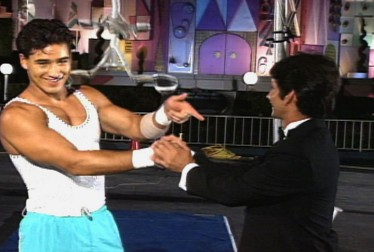 Mario Lopez Footage from Circus of the Stars