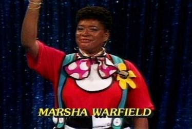 Marsha Warfield Footage from Circus of the Stars