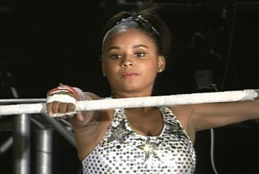 Michelle Thomas Footage from Circus of the Stars