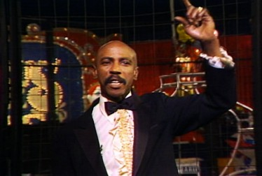 Montel Williams Footage from Circus of the Stars