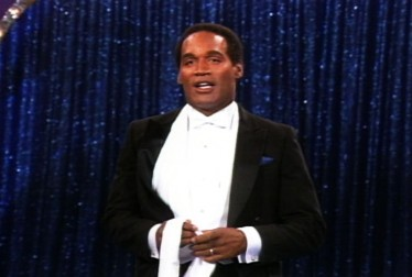 O.J. Simpson Footage from Circus of the Stars